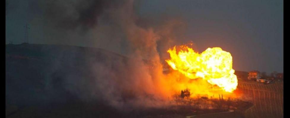 Esplosione gasdotto: altro che sicurezza!