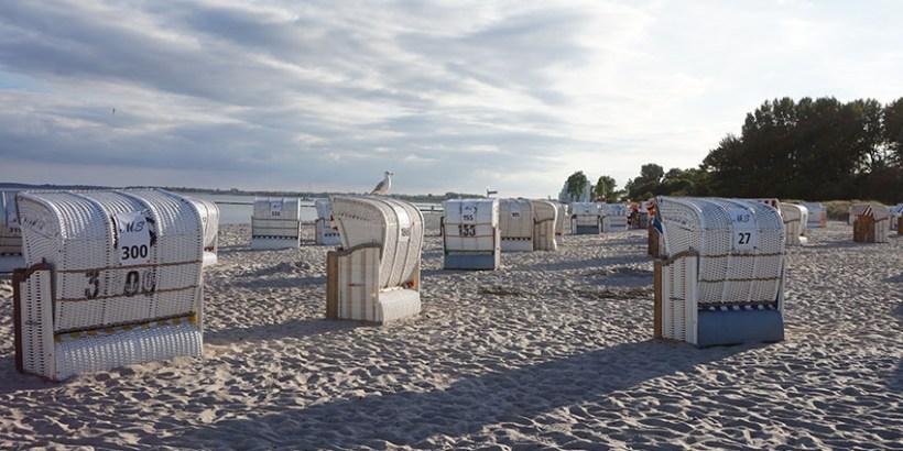 Strand Großenbrode Ostsee Deutschland