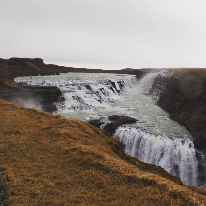 Wasserfall Island Gullfoss