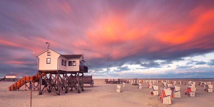 Urlaub und Strand St. Peter-Ording