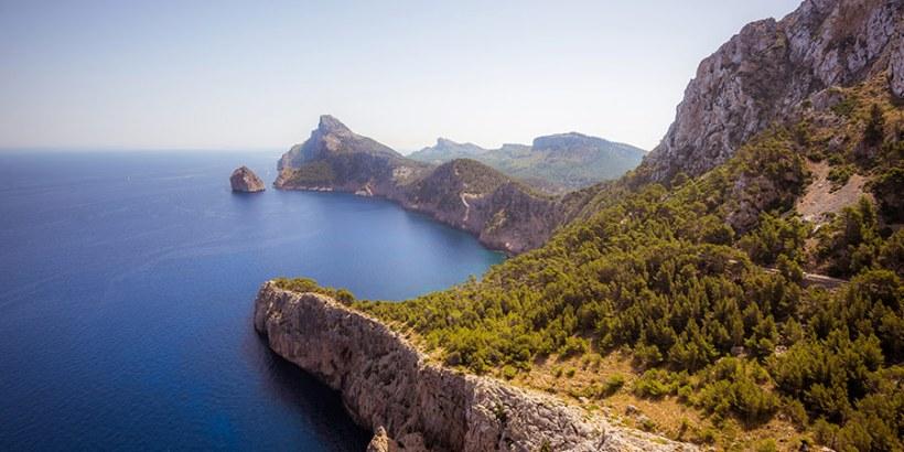 Über die Straßen Mallorca mit Wohnmobil