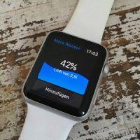 Wasser Trinken App für Apple Watch