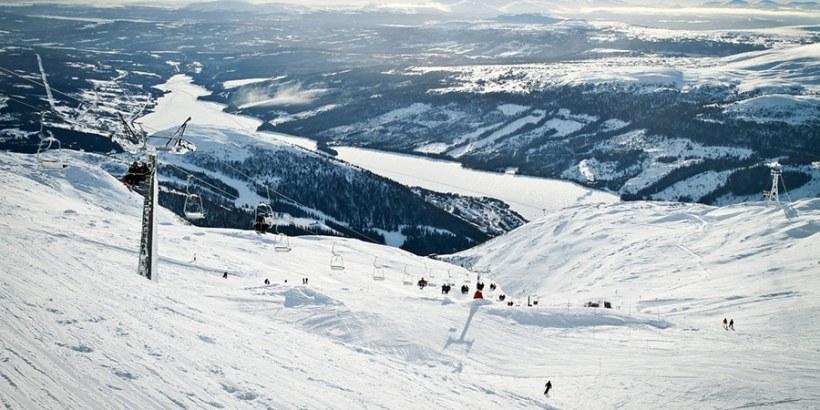 Skifahren in Schweden