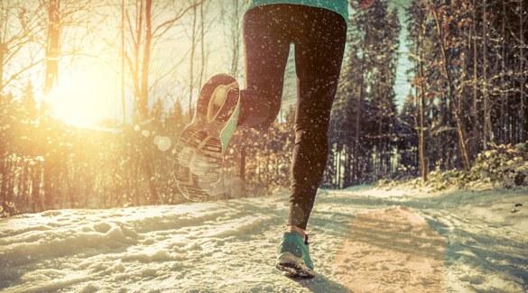 Joggen im Winter so geht's