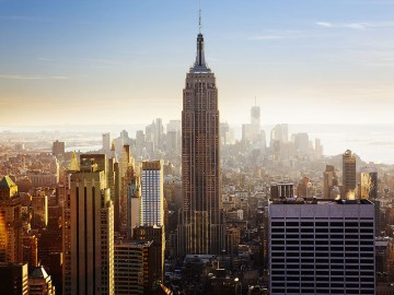 Resten nach New York Empire State Building