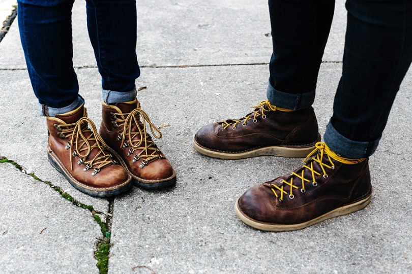 feste Schuhe zum Wandern