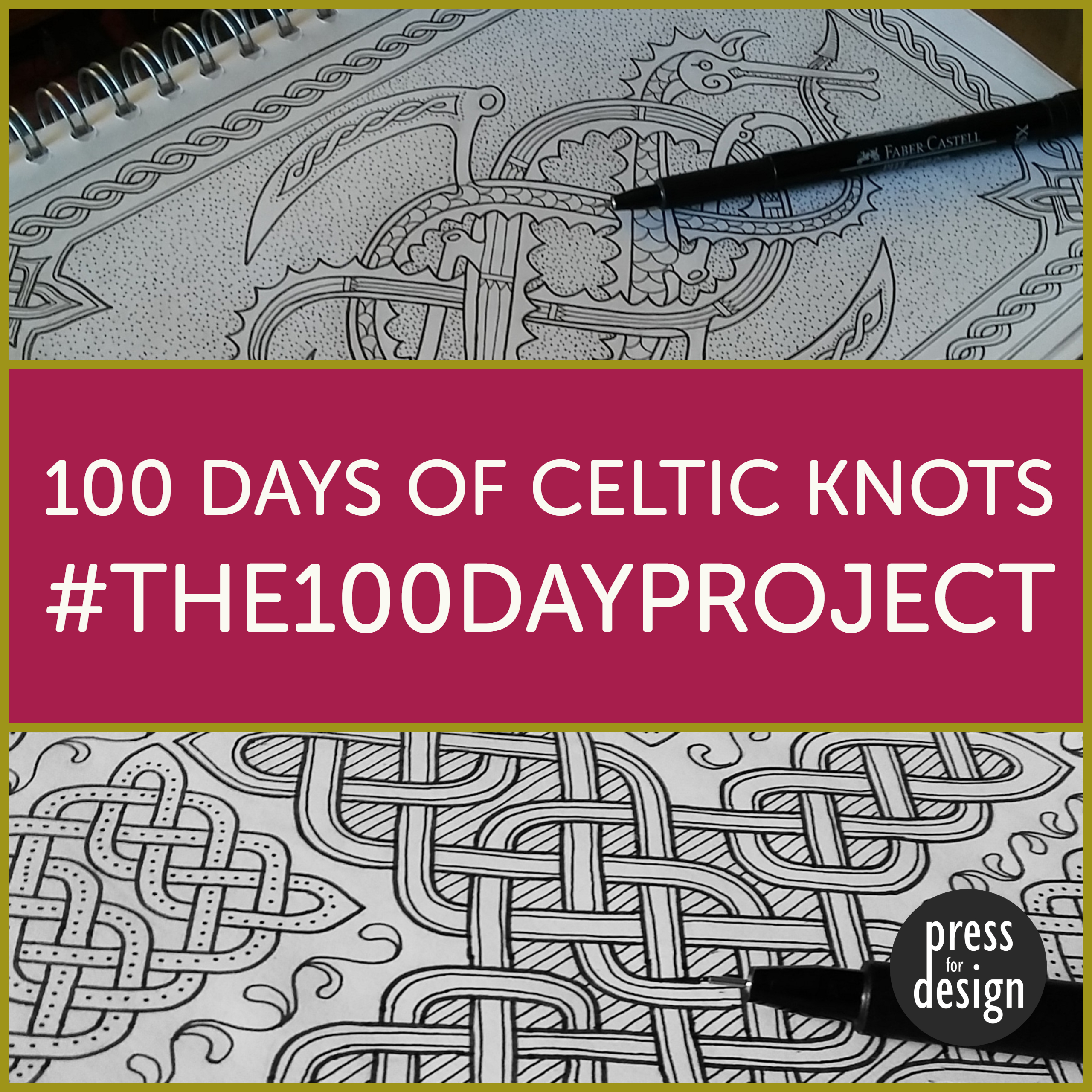 Projects to join in with: #the100dayproject