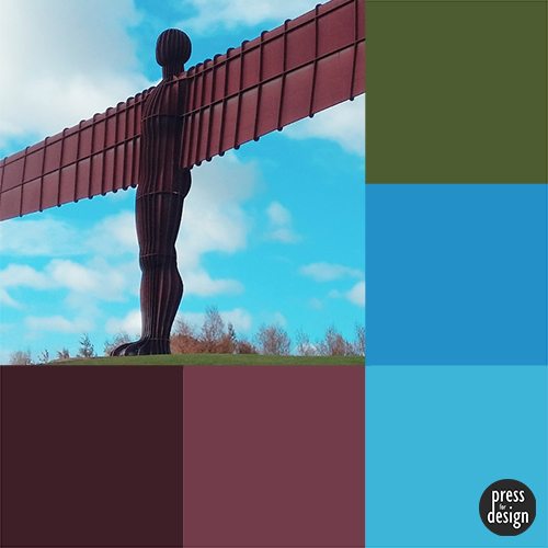 Tuesday Colour Inspiration: Angel of the North