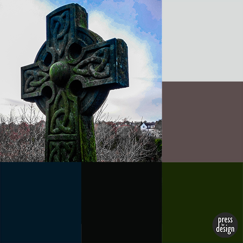 Tuesday Colour Inspiration: Celtic Cross at Durham Cathedral