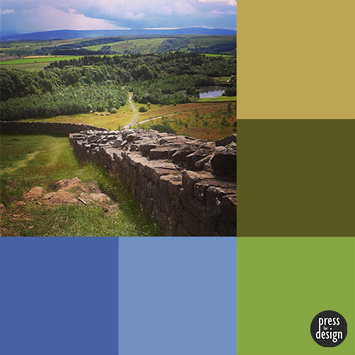 Tuesday Colour Inspiration: Walltown Crags