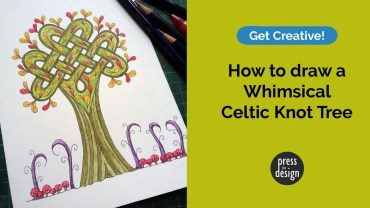 Get Creative: How to draw a whimsical Celtic knot tree