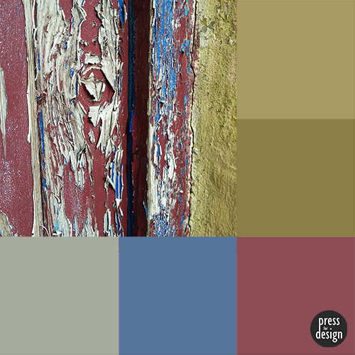 Peeled Paint colour inspiration swatch