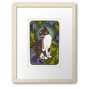 Art Nouveau Cats Collection