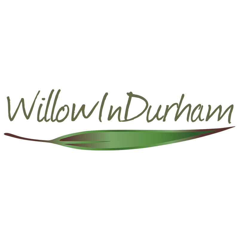 WillowInDurham logo design