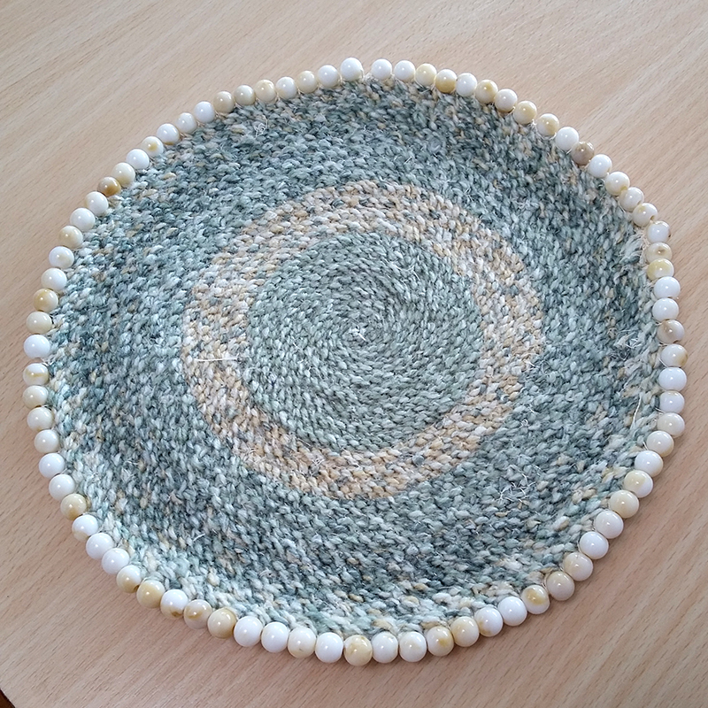 Student's braided placemat