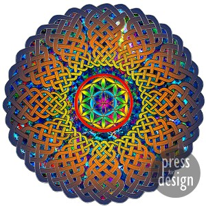 Flower of Life Celtic Mandala