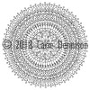 Dendryad Art - 5 Floral Mandala Colouring Pages
