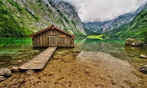 Obersee Gölü, Almanya