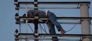 İnşaat işçisi Habib Kılıç elektirik direğinde yaşamını yitirdi!
