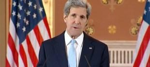 Kerry'den Kobani için açıklama geldi!