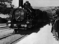 Bir Trenin Gara Girişi adlı filmden bir sahne