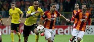 Galatasaray Dortmund karşısında 4-1 mağlup oldu!