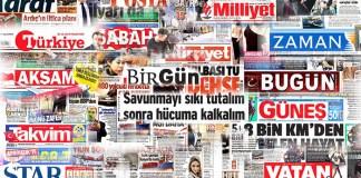 Gazete manşetleri presshaber.com'da