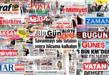 Bu günün gazete manşetleri!