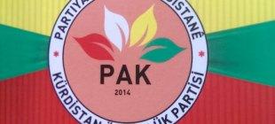 İçişleri Bakanlığı, Kürdistan Özgürlük Partisi (PAK) için kararını verdi!