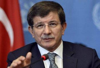 """Davutoğlu: """"Astsubayımızı Türkiye'ye getirdik"""""""