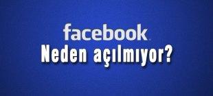 Facebook'a erişim sağlanamıyor 27 Ocak 2015