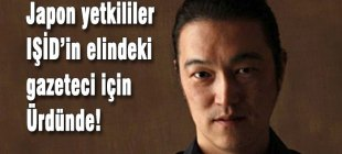 Japon yetkililer Kenji Goto için Ürdün'de