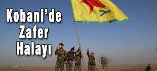 Kobani'de zafer halayı!