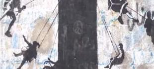 Gazze duvarlarında çocuklar için 'Graffiti'!