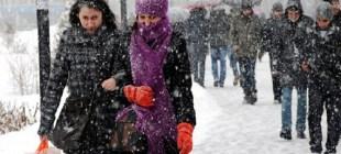 İstanbul için 'Kar Uyarısı'