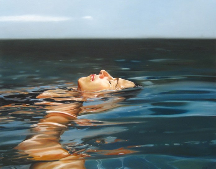 How to Disappear Completely,, 38x48,oil on canvas,2006,eric zener,highres