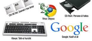 26 maddeyle Osmanlıca bilgisayar terimleri
