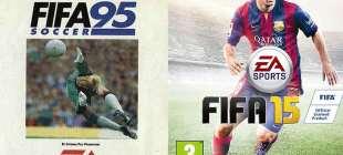 Tarihinden günümüze sevilen oyun FIFA'nın 21 kapağı