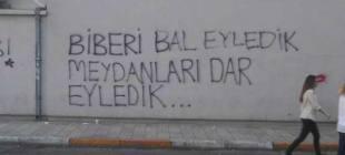Gezi Parkı eylemlerinin 3. yılında hatıralarda kalan duvar yazıları!