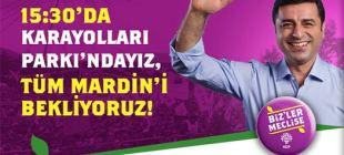 HDP Mardin mitingi