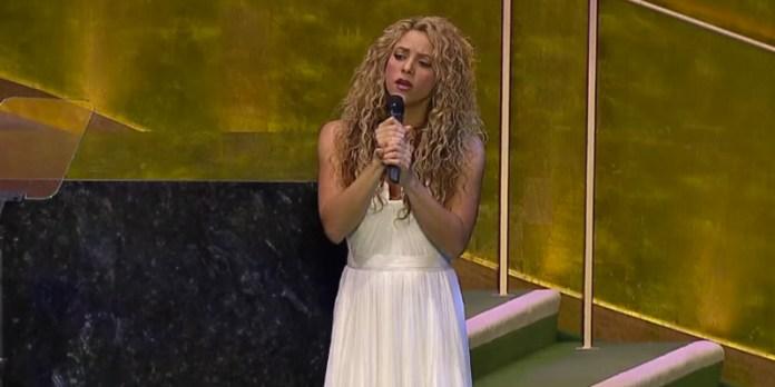 Ünlü şarkıcı ve BM iyi niyet elçisi Shakira, boğulduktan sonra Bodrum kıyılarına vuran Alan Kurdi ve Galip Kurdi adlı Kobanili çocuklar için şarkı söyledi.