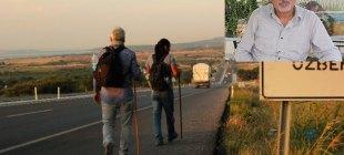 Çanakkale'den İstanbul'a 'Tuzlu Suyla' yürümenin hikayesi!