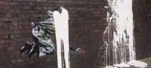 Banksy'nin Erdoğan çizimine saldırı