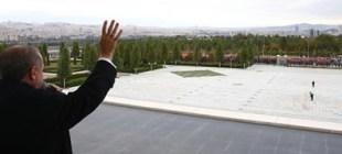 İşte Erdoğan'ın balkon manzarası