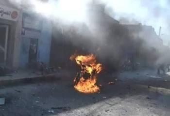 IŞİD'den Tel Abyad'da motosikletli canlı bomba eylemi
