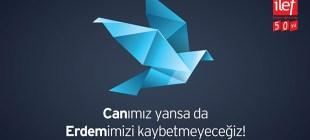 Can Dündar'ların okulu İLEF: Can'ımız yansa da Erdem'imizi kaybetmeyeceğiz!
