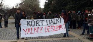 ODTÜ ve Cebeci Kampüsü'nde eylem