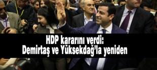 HDP'nin yeni PM üyeleri belli oldu: Demirtaş ve Yüksekdağ'la yeniden