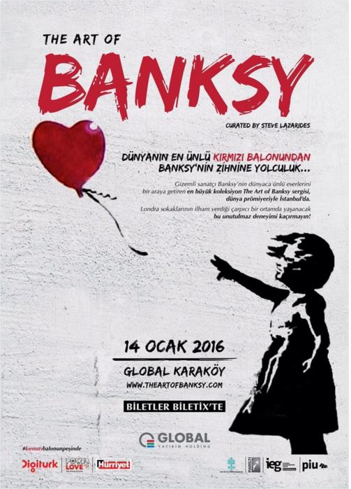 The Art of Banksy istanbul