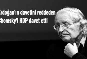HDP Erdoğan'ın davetini reddeden Chomsky'i Türkiye'ye davet etti